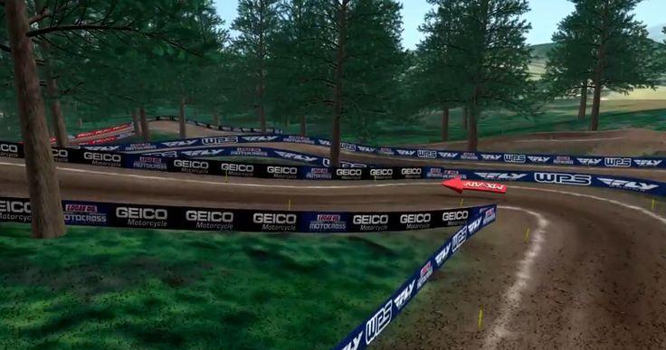 Animated Track Map: Washougal - Motocross - Racer X Online #langstonmotorsports  https://link.crwd.fr/PLp