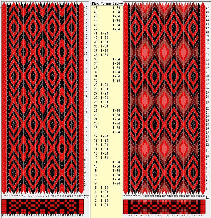 34 tarjetas hexagonales, 2 / 5 colores, 5F y secuencia 6B-6F // sed_372_c6 diseñado en GTT༺❁