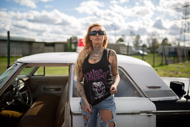 Womens Top (Tanktop) by Blood in Blood out Clothing.