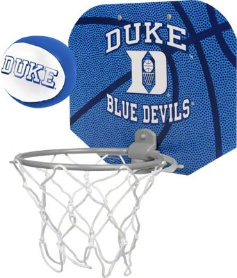 Duke Blue Devils Basketball Hoop Set #bluedevils #duke #college