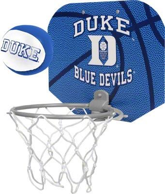 Duke Blue Devils Basketball Hoop Set #bluedevils #duke #college