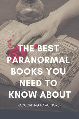 The Best Paranormal Books You Need to Know About | On the