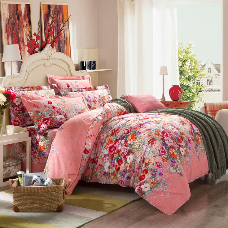 2015 4pcs 3d Beddding Sets Thick Warm 100% Cotton Denim Bedding Set Super King Size Bed Sheet Duvet Cover Pillow No Comforter