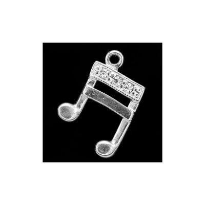 CHAR-65 Kryształ  Wymiary: 18,0 x 12,0 mm Waga ~ 0,94 g (1 szt.) Metal: srebro (AG-925) + Swarovski Elements Kolor: Kryształ  1 paczka  = 1 szt.