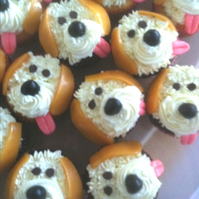 Puppy Cake Cupcakes