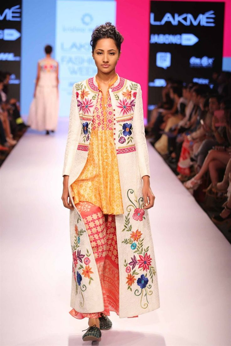 love this jacket | Krishna Mehta's boho chic collection at Lakme Fashion Week 2015
