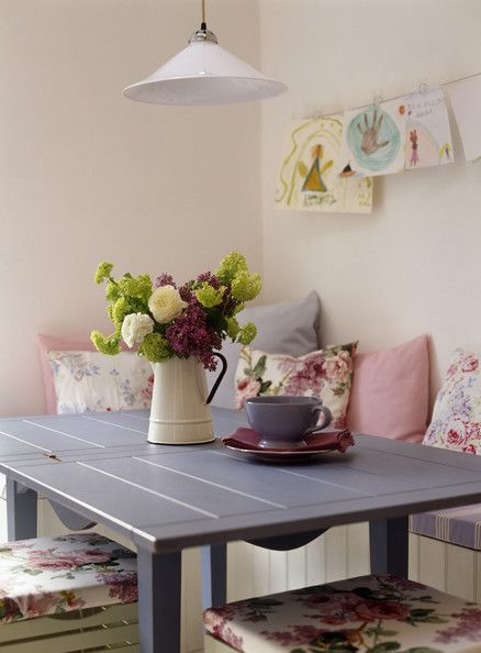 Pastel Colors Photos Country Dining Rooms Pastel Colors