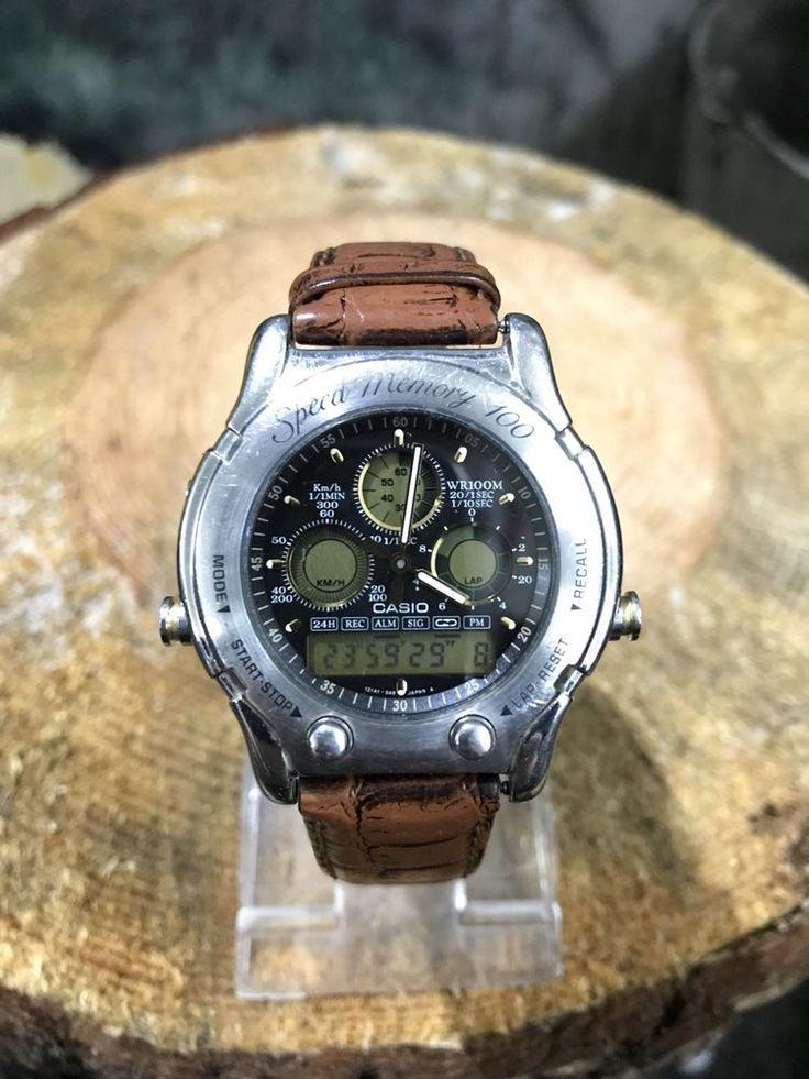 Casio AW-503 mod 384 vintage watch rare speed memory 100 watch alarm wr100 Japan  | eBay