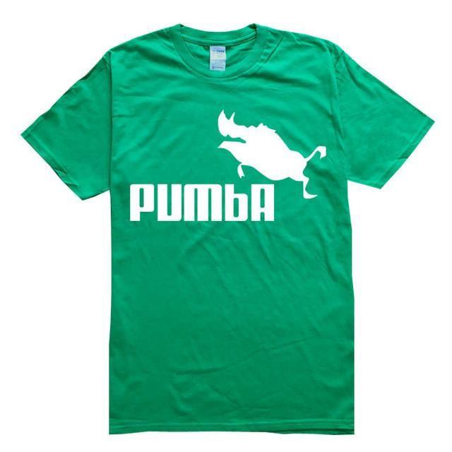 RUMEIAI 2017 funny tee cute t shirts homme Pumba men women cotton cool  tshirt lovely kawaii summer jersey costume t-shirt