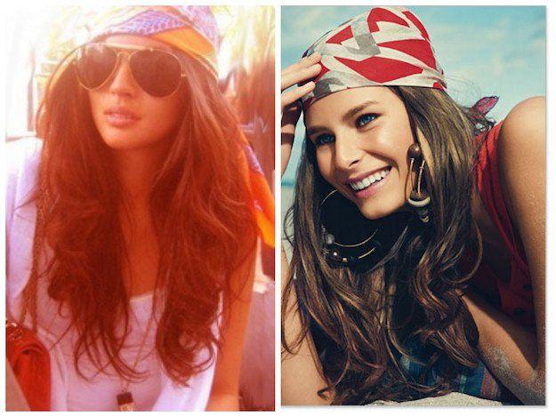 Boho Headscarf/Headband | New Fall Hairstyles You Need To Try This Season