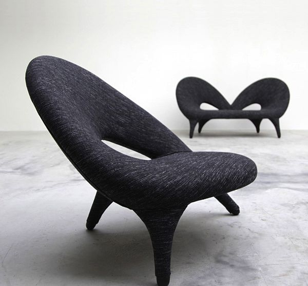 "Folke Jansson ""Arabesk"" chair, by Fritz Hansen, c.1955"