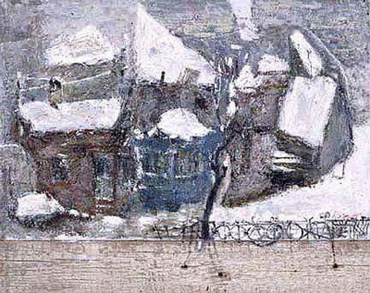 1996 Winter by Gogi Chagelishvili (b1945 Tbilisi, Georgia)