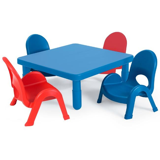 Preschool Table And Chairs Set 28 Square By Angeles Ab70020 14367 Toddler Table And Chairs Toddler Table Preschool Tables Preschool table and chairs set