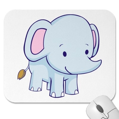 cartoon baby elephant wallpaper