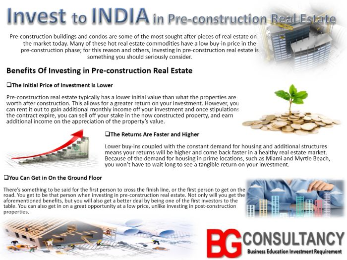 #Invest To #India In Pre-Construction Real Estate ..! Visit for Investment: https://www.bgconsultancy.eu/investment-consultancy.html Get info @ https://bgconsultancy.wordpress.com/2017/11/02/invest-to-india-in-pre-construction-real-estate/
