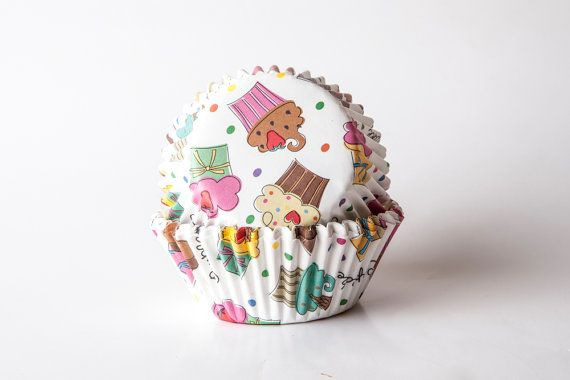 Pirottini CUPCAKE base di carta con grafica muffin di buyititaly, €2.99