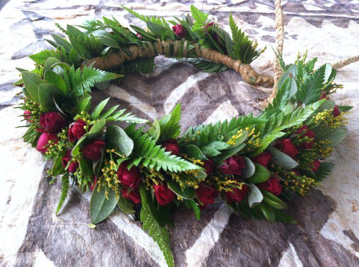 Mini Red Rose Haku Hawaiian Lei Hawaiian Crafts Flower