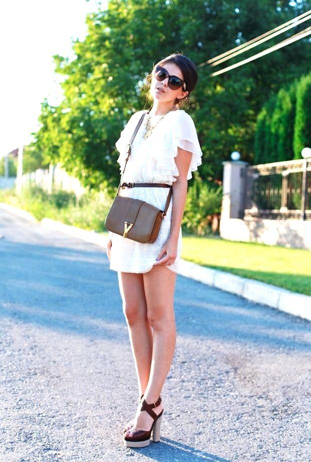 #YSL #bag #street #style  #fashion