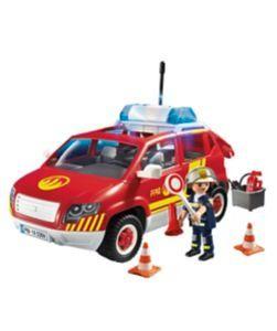 Playmobil Fire Chief's Car