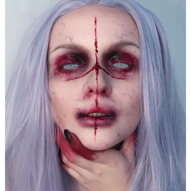 25 best ideas about demon makeup on pinterest