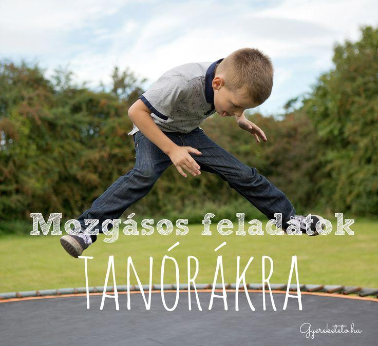 Ha átmozgatod a gyerekeket, annak több előnyét is gyorsan megtapasztalhatod. Először is, mozgásos feladatok után könnyebben elcsendesedik az osztály.