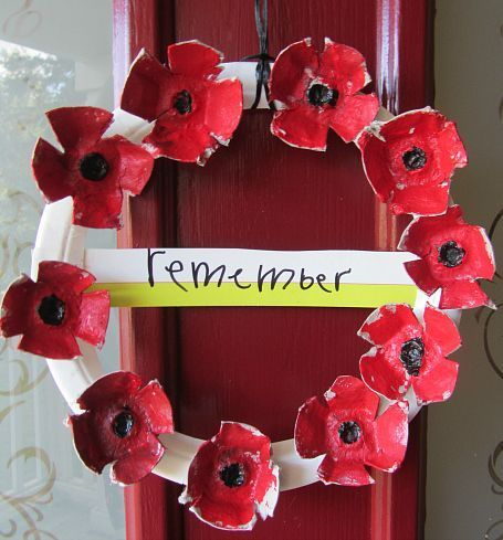 Veterans Day Craft - No Time For Flash Cards- Remembrance Day Craft