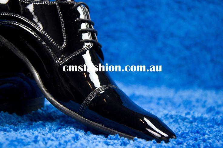 Mens Patent Leather Dress Shoes #patentleather #leather #shoes #mensshoes #leathershoes #dressshoes #mensfashion www.cmsfashion.com.au
