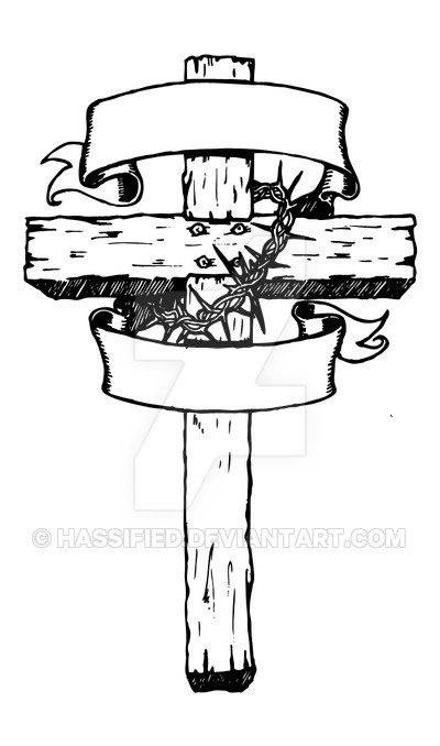 Old Rugged Cross - Printable vector, svg, jpeg | Crosses