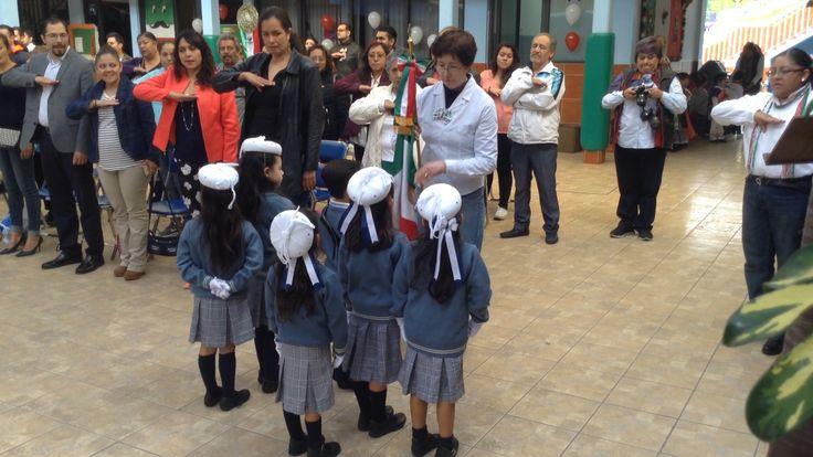 """Ceremonia Cívica Interna, """"Día de la Bandera Nacional""""."""