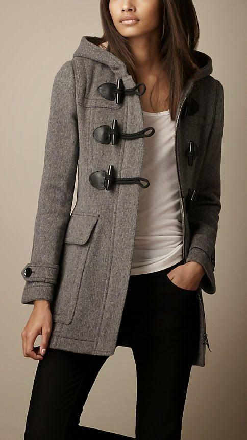 Lindo casaco cinza