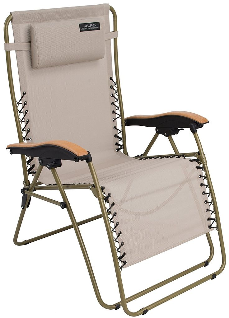ALPS Mountaineering Lay-Z Lounger Chair * Unbelievable  item right here! : Camping chairs