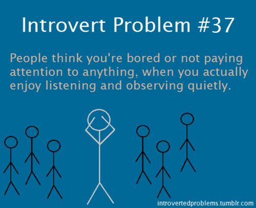 Introvert Problem #37