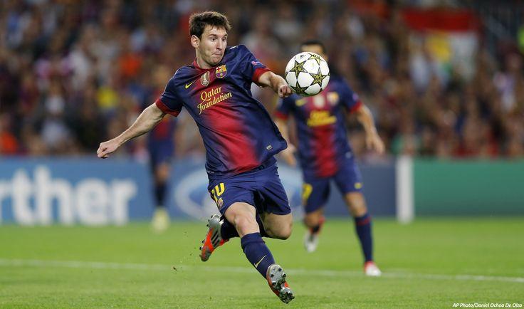 Lionel Messi: Barcelona/Argentina