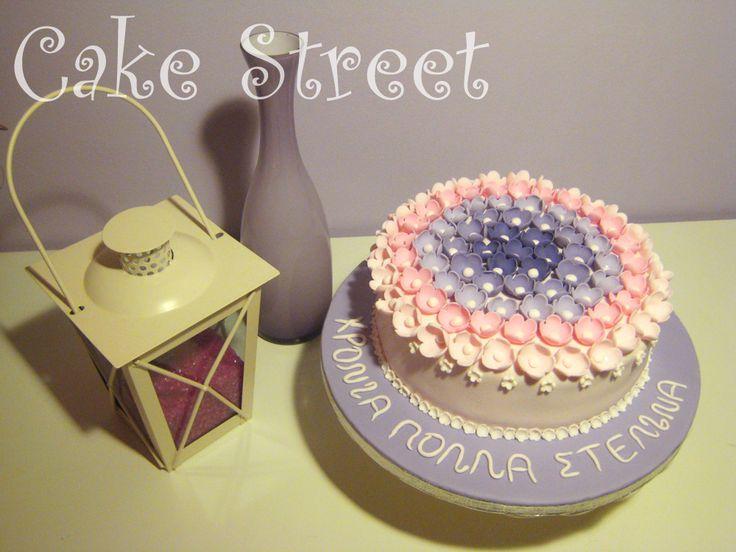 Hombre Flower Cake!