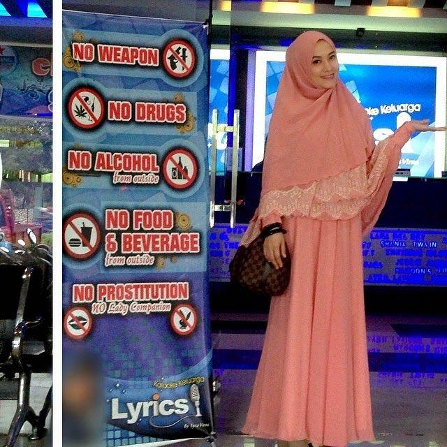 Full Chest Covering Hijab - Beautifull with Pastel ala Lyra Virna