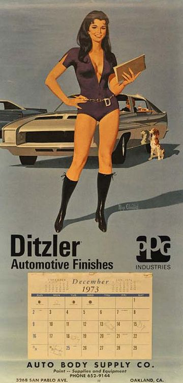 Bring Your Own Parts Auto Repair >> 89 best images about Vintage calendar girls on Pinterest ...