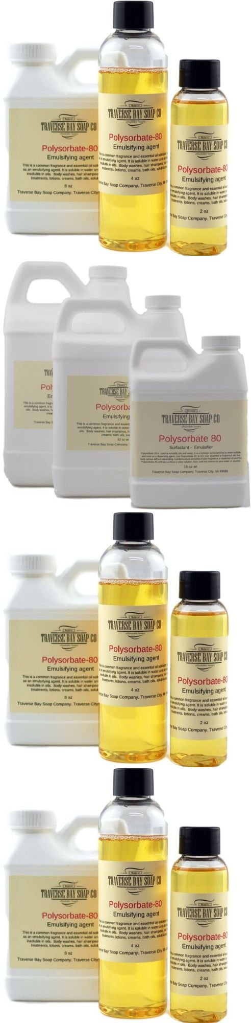 Massage Oils and Lotions: Polysorbate 80, Soap Making Supplies, Bath And Body Supplies. Aka Tween 80 -> BUY IT NOW ONLY: $56.95 on eBay!