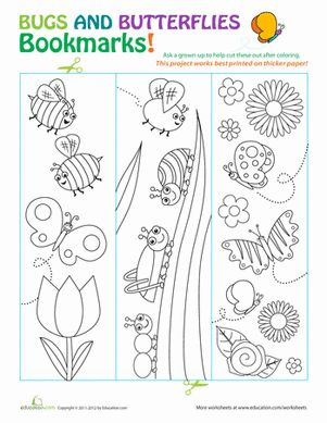 Children can color these and write their favorite part of the year on the back. Then laminate - great teacher gift