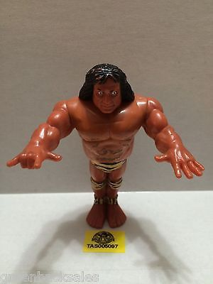 (TAS005097) - WWE WWF Wrestling Hasbro Action Figure - Jimmy Snuka