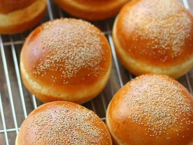 ハンバーガー★バンズの画像
