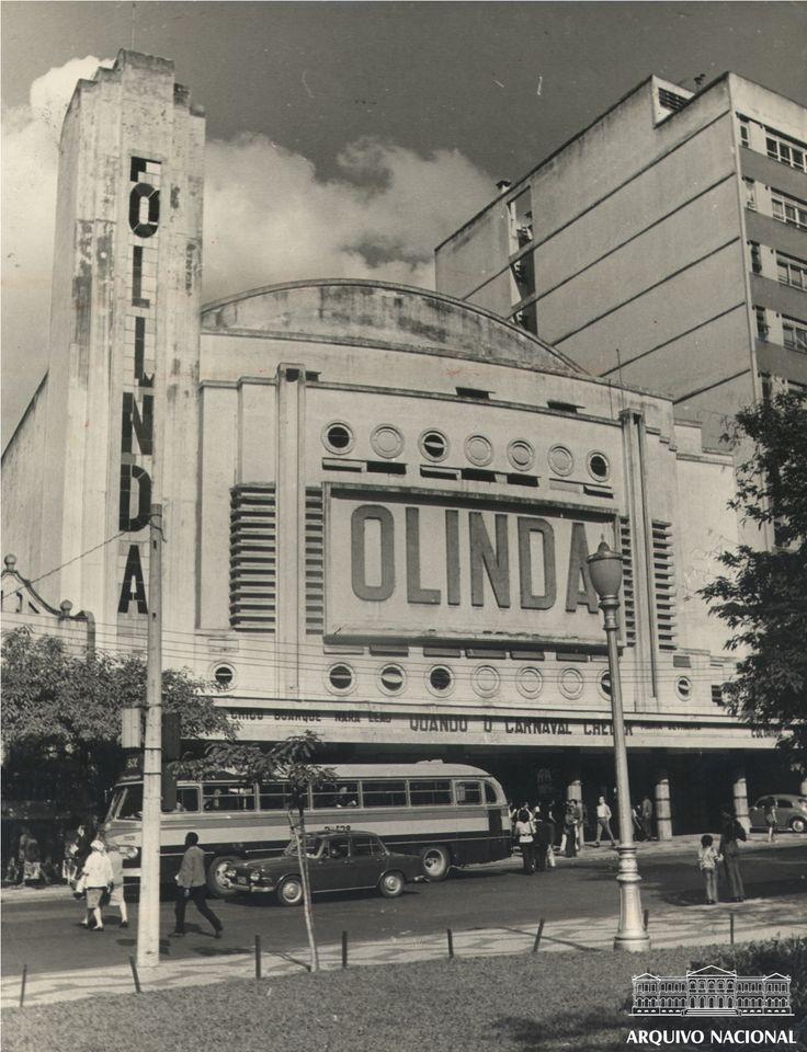 Cinema Olinda, Tijuca, Rio de Janeiro, julho de 1972. Arquivo Nacional. Fundo Correio da Manhã. BR_RJANRIO_PH_0_FOT_00204_010