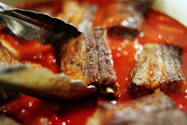 Short Ribs in Tomato Sauce | Recipe