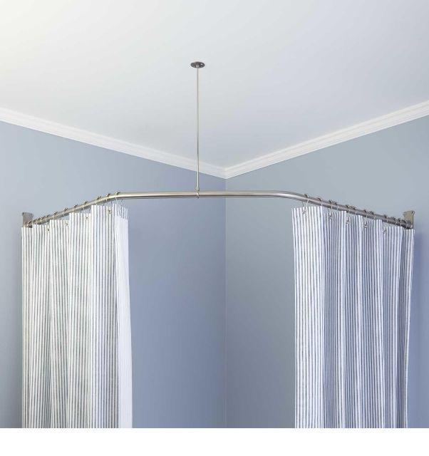 Shower Curtain Rod Ideas