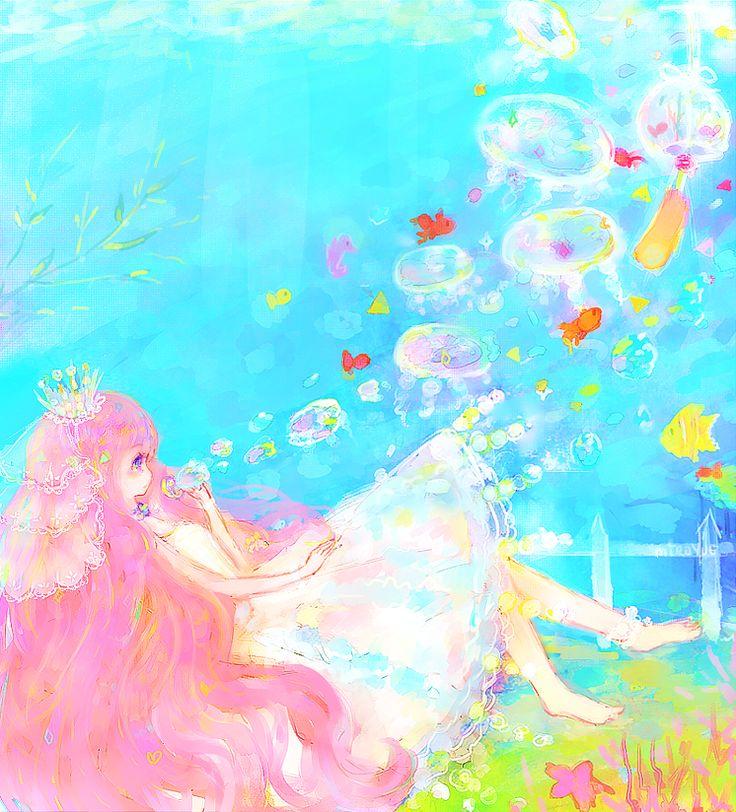 163 best Princess jellyfish images on Pinterest | Princess ...