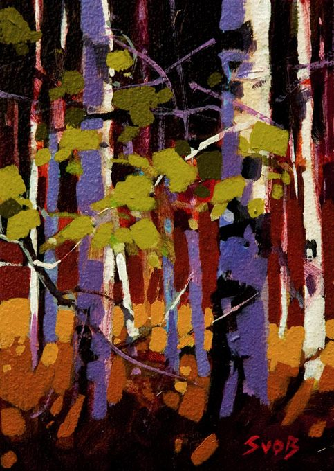 Aspen Pattern, by Mike Svob