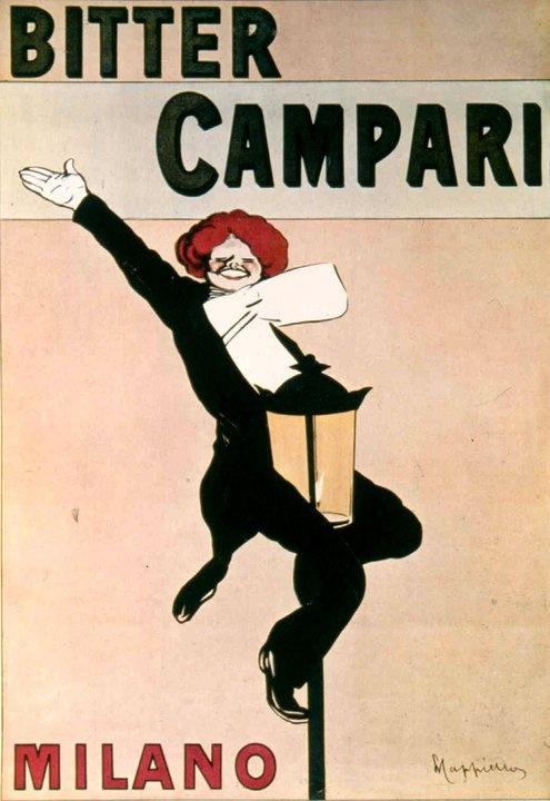 Campari 1909 Cappiello    #CampariAds