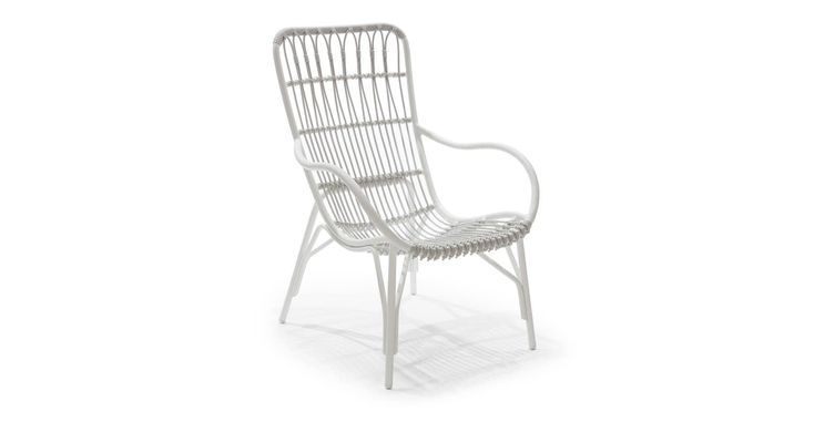 White Chair Used Outdoor Furniture Modern Outdoor Furniture