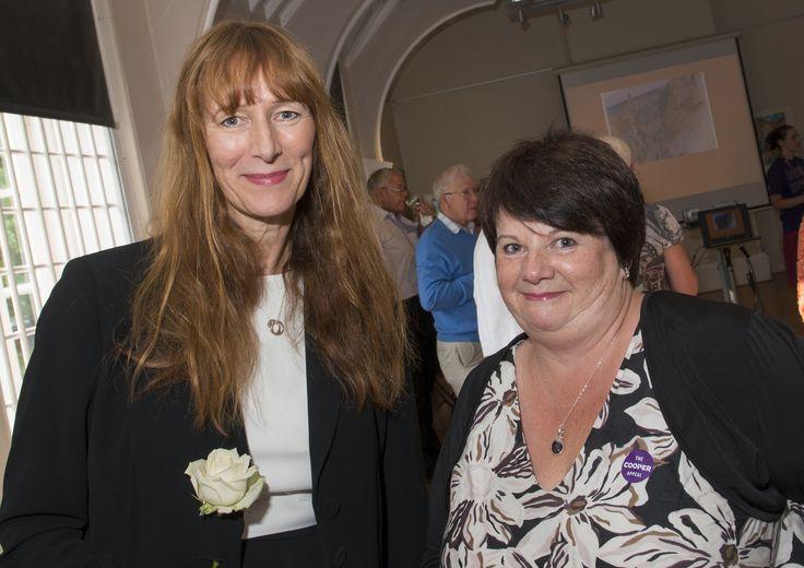 Diane Terris, CEO Barnsley Metropolitan Borough Council and Sue Thiedeman