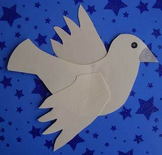 Crack of Dawn Crafts: Peace Dove