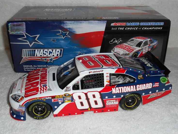 Dale Earnhardt Jr #88 National Guard NASCAR Salutes 2012 Impala 1:24 scale car in Toys & Hobbies, Diecast & Toy Vehicles, Cars: Racing, NASCAR | eBay